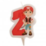 Bougie Pirate 2 ans