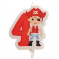 Bougie Pirate 4 ans