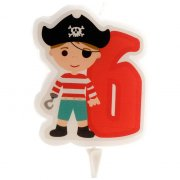 Bougie Pirate 6 ans