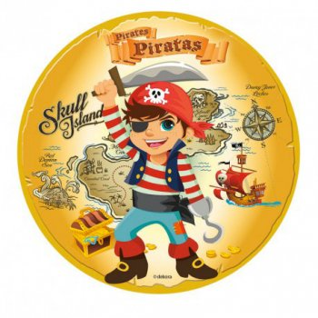 Disque en sucre Pirate