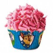 50 Caissettes à Cupcakes Pat Patrouille Bleu