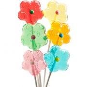 Bouquet de 6 Sucettes Fleurs