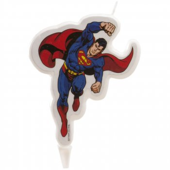 1 Bougie Silhouette Superman