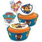 16 Mini disques en sucre Pat Patrouille
