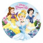 Disque en Sucre Princesses Disney Magie