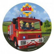 Disque en Sucre Sam le Pompier