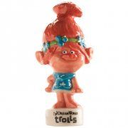 Figurine Trolls Poppy rose (6,5 cm) - Porcelaine