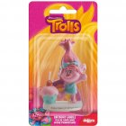 Bougie Figurine 3D Trolls Poppy (rose)