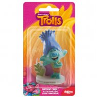Bougie Figurine 3D Trolls Branch