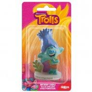 Bougie Figurine 3D Trolls Branch