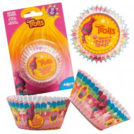 50 Caissettes à Cupcakes Trolls