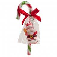 1 Canne à Sucre Noël et Bonbon (12 cm)