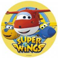 Disque en Azyme Super Wings (20 cm)