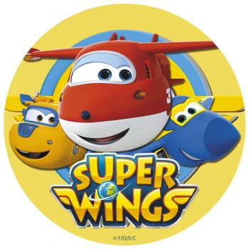 1 Disque Super Wings (20 cm) - Azyme