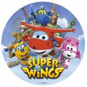 Disque en Sucre Super Wings (20 cm)
