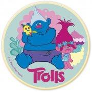 Disque en chocolat Trolls (11,2 cm)