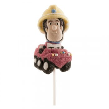 1 Sucette Chamallow Sam le pompier