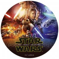 Disque Star Wars (20 cm) - Sucre