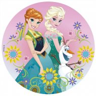 Disque Reine des Neiges Eté (20 cm) - Sucre