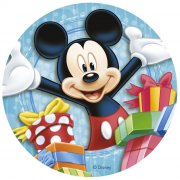 Disque Happy Mickey (20 cm) - Sucre