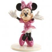 Figurine Minnie sur socle (8,5 cm) - Plastique