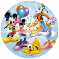 Disque Azyme Mickey et ses Amis (20 cm)