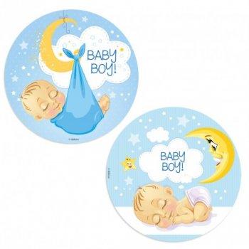 1 Disque Azyme Baby Boy (20 cm)