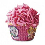 50 Caissettes à Cupcakes Pat Patrouille Rose