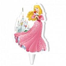 1 Bougie Silhouette Princesse Disney Aurore (10 cm)