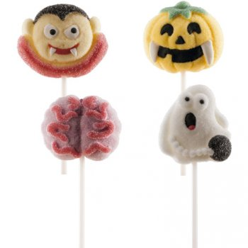 4 Sucettes Chamallow Halloween