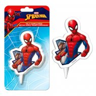 Bougie Silhouette Spiderman