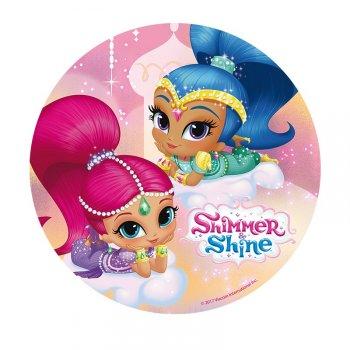 Disque Shimmer & Shine Rose (20 cm) - Azyme