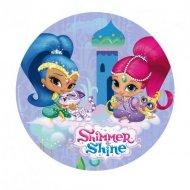 Disque Shimmer & Shine Parme (20 cm) - Azyme