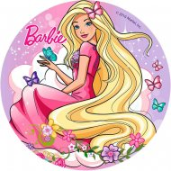 Disque en Azyme Barbie Papillon