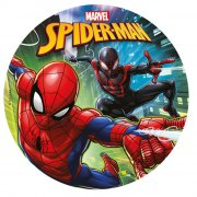 Disque Spiderman (20 cm) - Sucre