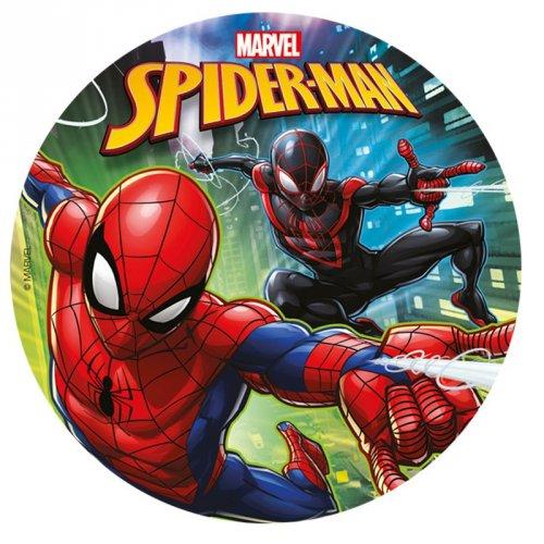 Disque Spiderman (20 cm) - Sucre