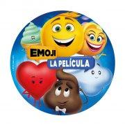 Disque Emoji Movie (20 cm) - Sucre