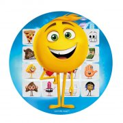 Disque Emoji Movie Bleu (20 cm) - Azyme