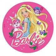 Disque en Azyme Barbie Animaux magiques