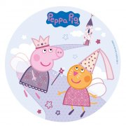 Disque Peppa Pig Princesse (20 cm) - Azyme
