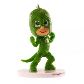 Figurine Pyjamasques Gluglu Vert  (8 cm) - PVC