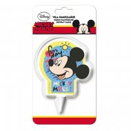 Bougie Silhouette Mickey (9 cm)