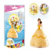 Kit Figurine + 2 Pics Déco Belle (Disney)