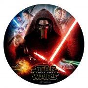 Disque en Sucre Star Wars - Kylo Ren (16 cm)