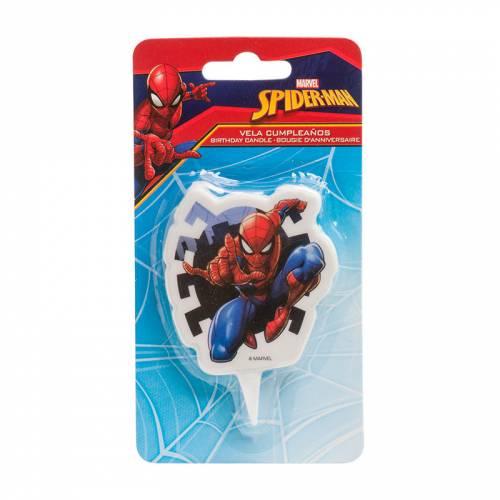 1 Bougie Silhouette - Spider-Man