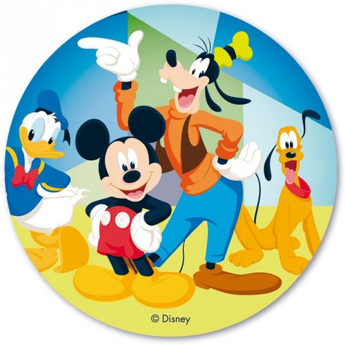Disque en Azyme Mickey et ses Amis (20 cm)