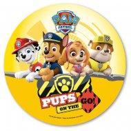 Disque en Azyme Pat Patrouille Pups (20 cm)