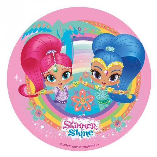Disque en Azyme Shimmer & Shine Paradise (20 cm)