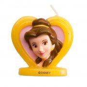 Bougie Princesse Disney Belle 2D (5,5 cm)