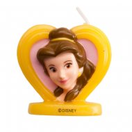 Bougie Princesse Disney Belle 2D (5,5 cm)